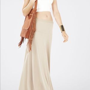 BCBG MAXAZRIA Jaymee Wide-Banded A-Line Skirt